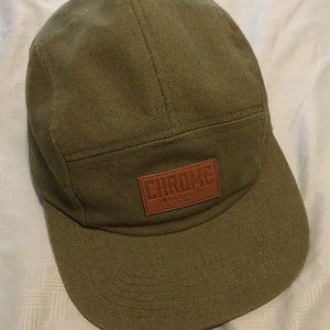 NWOT Chrome Industries five panel hat